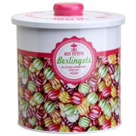 Caja de lata para galletas vintage Caramelos
