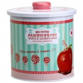 Caja de lata para galletas vintage Manzana Caramelizada