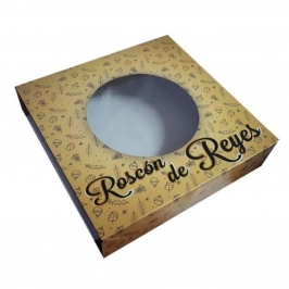 Caja para Roscón de Reyes 33 cm