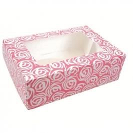 Caja para cupcakes Pink Roses