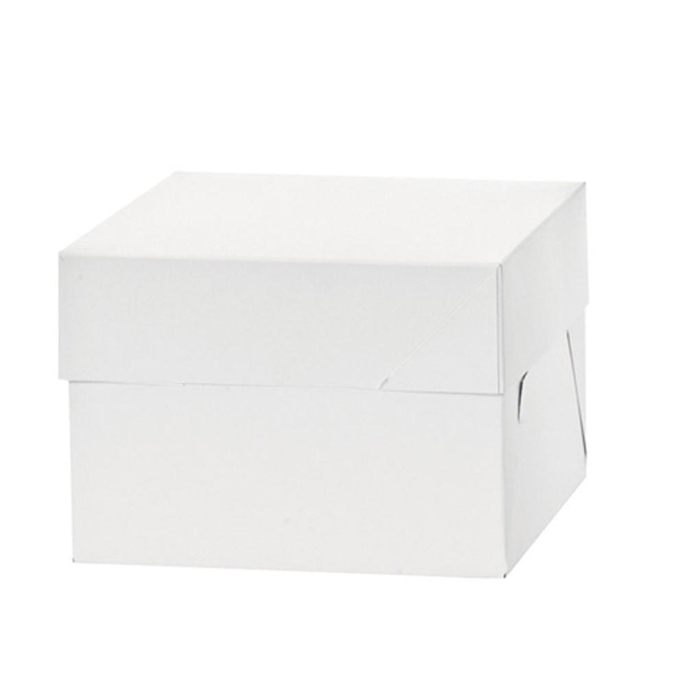 Pack 100 Cajas para Tarta 30 cm x 30 cm x 15 cm de alto.