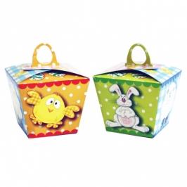 Caja para huevito de Pascua dulces