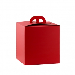 Caja para Panettone Roja Top Class 21 x 21 x 22 cm