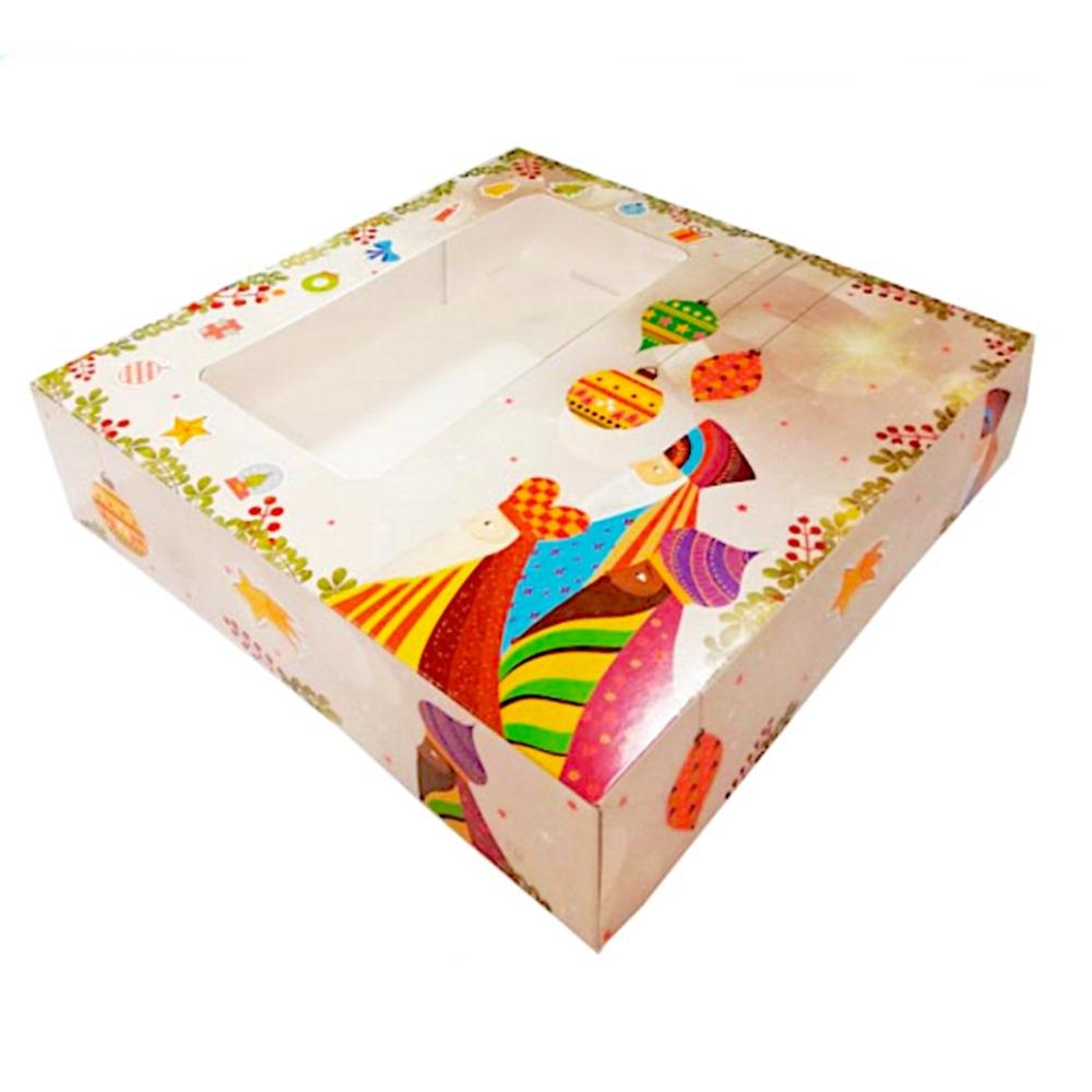Caja para Roscón 31 x 31 cm - My Karamelli