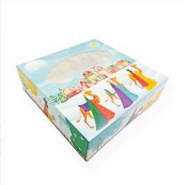 Caja para Roscón de Reyes de 35 cm
