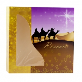 Caja para Roscón de Reyes 26 cm - My Karamelli