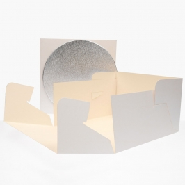 Caja para Tarta con Base 25 x 15 cm