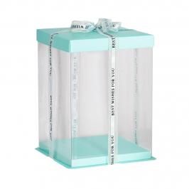 Caja para Tarta Deluxe Azul 30 cm