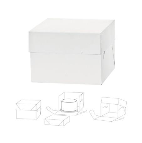 Caja para tarta extra alta 30x30x25cm de alto