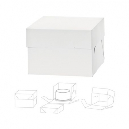 Caja para tarta extra alta 36x36x25cm de alto