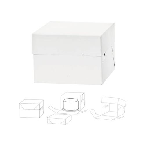 Caja para Tarta Extra Alta 40x40x25cm de Alto