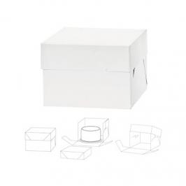Caja para Tarta Extra Alta 40x40x37cm de Alto