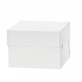Caja para Tartas Blanca 30 x 30 x 15 cm de alto FUNCAKES