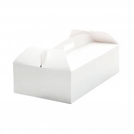 Caja para Tartas Rectangular con Asa 31x16x12cm