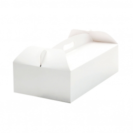 Caja para Tartas Rectangular con Asa 36x21x12 cm