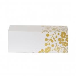 Caja para Tronco de Navidad Gold 30 cm x 11 cm de alto