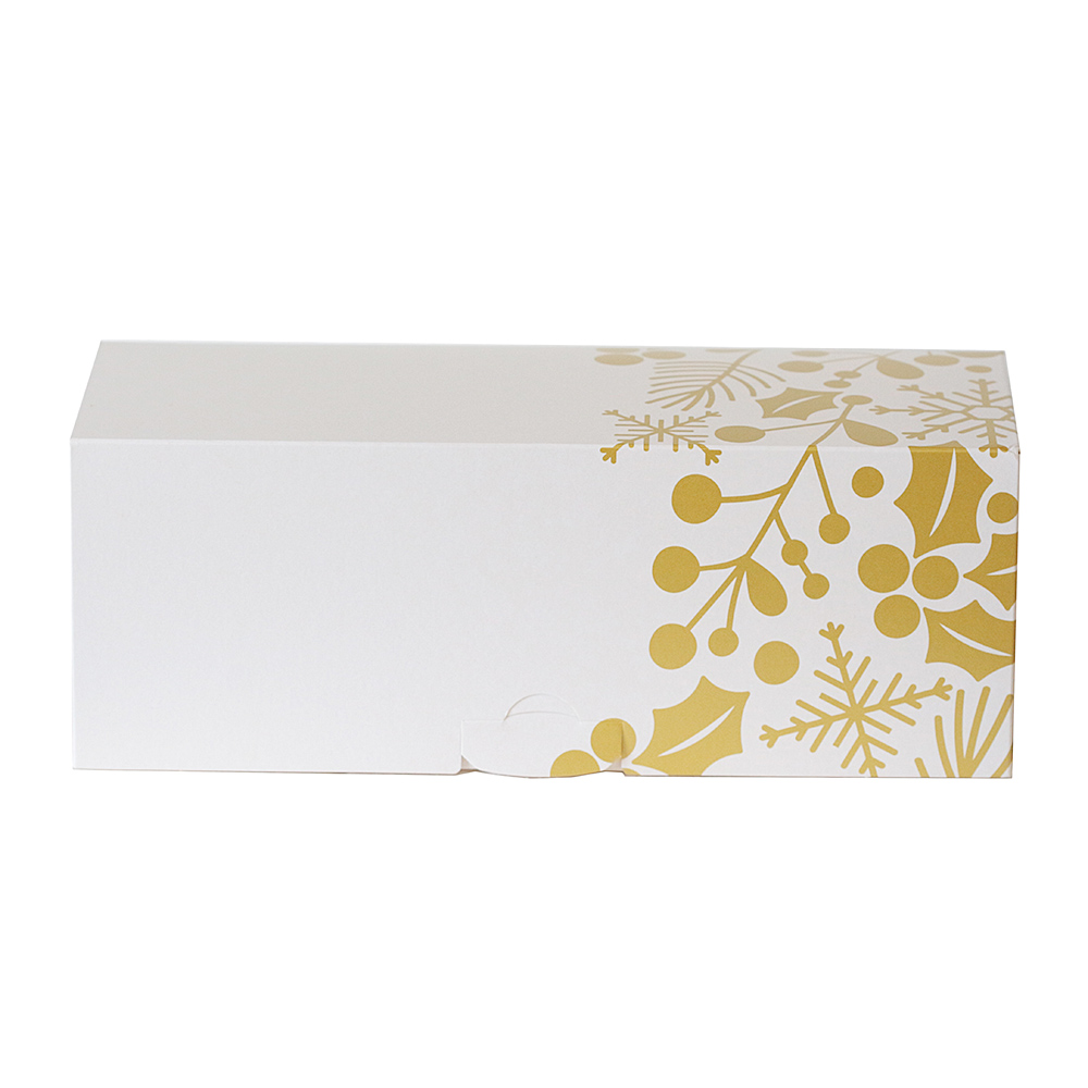 Caja para Tronco de Navidad Gold 35 cm x 11 cm de alto