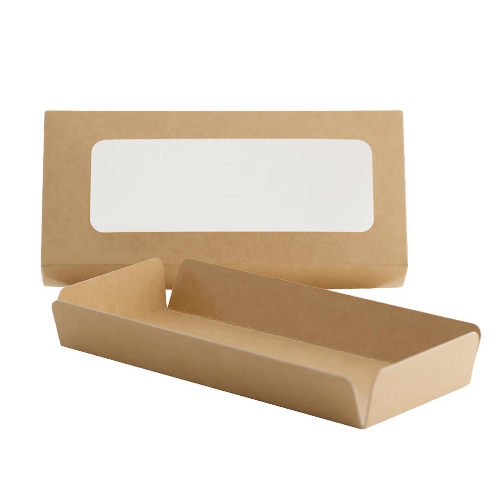 Caja para Turrón Kraft 20 x 9 x 3 cm de alto