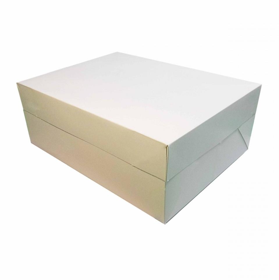 Caja rectangular para tartas 22,5 x 30 cm