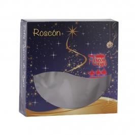 Caja Roscón de Reyes Azul Real 40cm