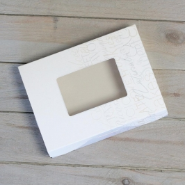 Caja para Galletas Luxe 18 cm x 13 cm