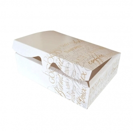 Caja para Galletas Luxe 17 cm x 11 cm