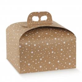 Caja para Panettone de 500 gr Galaxy