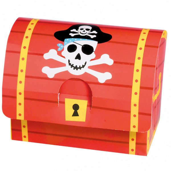 Cajas para dulces Fiesta Pirata