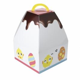 Caja para Mona de Pascua Modelo Pollito 25 cm