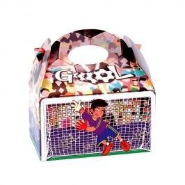 Cajitas para Dulces Fútbol Gol