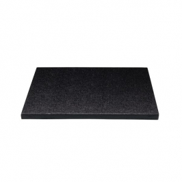 Cake drum cuadrado Negro 35 cm