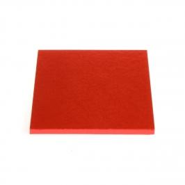 Cake drum cuadrado Rojo 30 cm