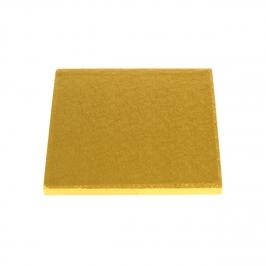 Cake drum cuadrado dorado 40 cm