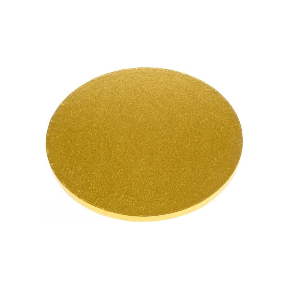Cake drum dorado redondo 22,8cm