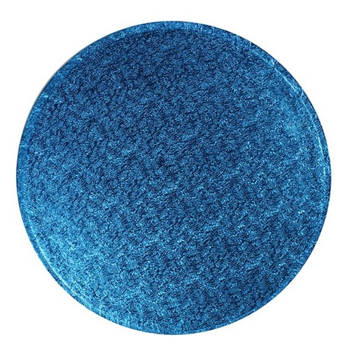 Cake Drum Redondo Azul 35cm