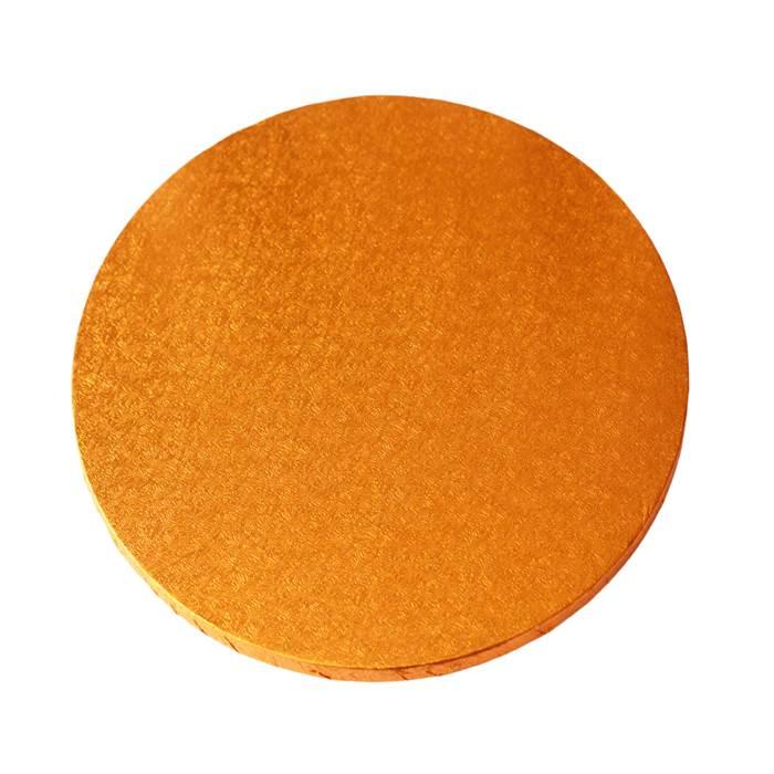 Cake drum redondo naranja 25cm