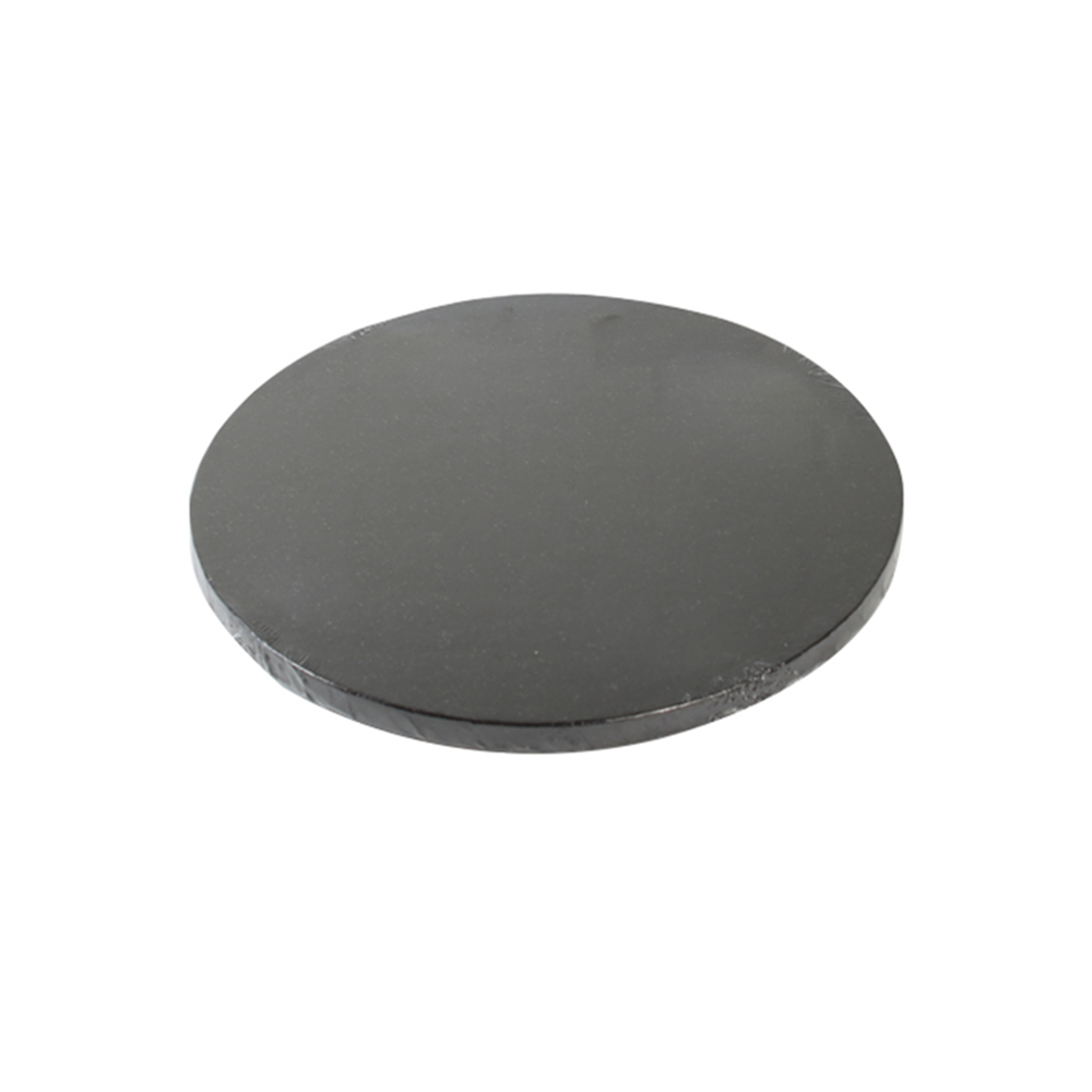 Cake Drum Redondo Negro 25 cm