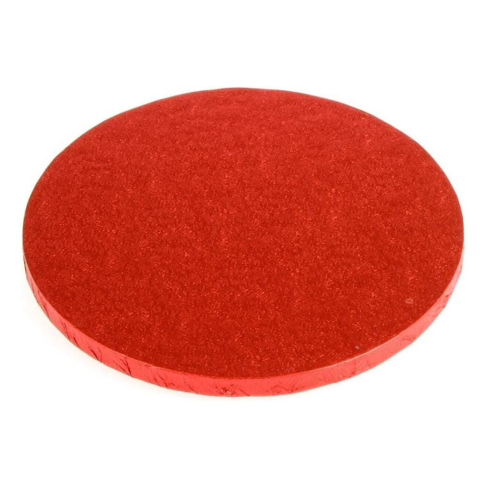 Cake Drum Redondo Rojo 40 cm x 1,2 cm