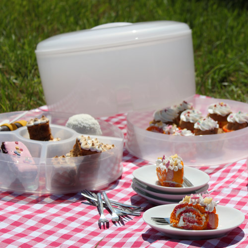 Cake & Food Carrier Clear
