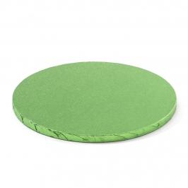 Cake Drum Redondo Verde Claro 35 cm