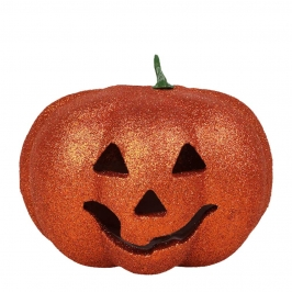 Calabaza Halloween con Luz 17 cm