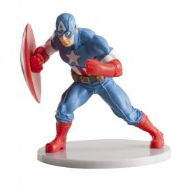 Figura decorativa Capitán América 8cm