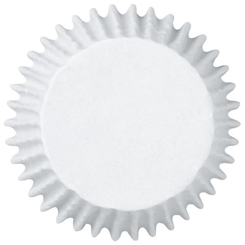 Cápsulas blancas para hornear tamaño Jumbo