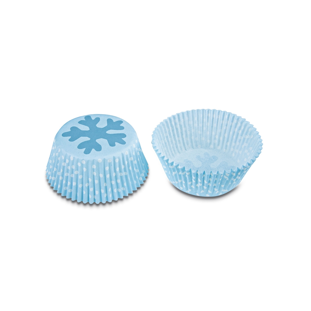 Cápsulas para cupcakes Ice Crystal (50 uds)