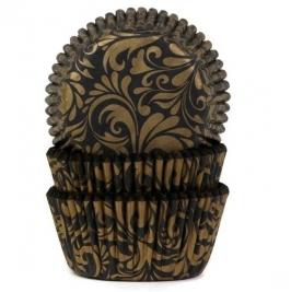 Cápsulas Cupcakes Elegance Gold House of Marie