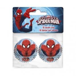 Cápsulas minicupcakes Spiderman