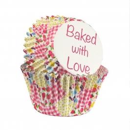 Cápsulas para Cupcake Patchwork