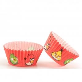Cápsulas para cupcakes Angry Birds