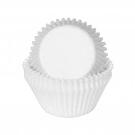 Cápsulas para cupcakes blancas medianas