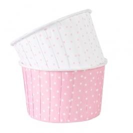 Cápsulas para cupcakes lunares rosas
